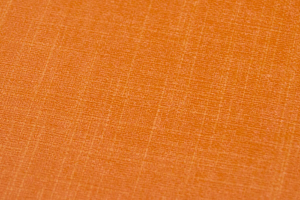 Orange Linen Closeup