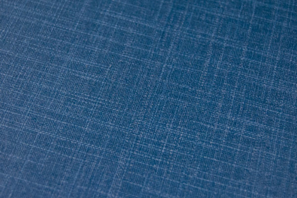 Dark Blue Linen Closeup